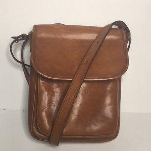 Vintage Brahmin Sport canteen bag